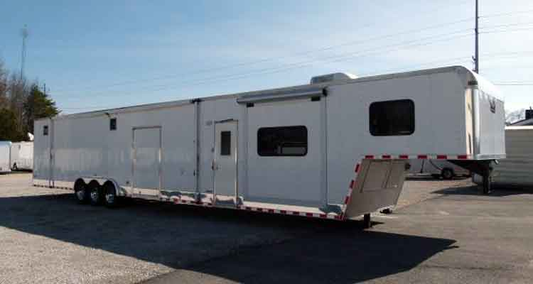 Used Race Trailers And Living Quarters