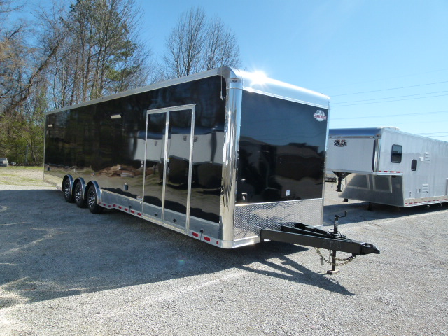awesome Race Trailers With Bathrooms Part - 15: 2018 34ft Cargo Mate Eliminator Race Trailer bathroom ...